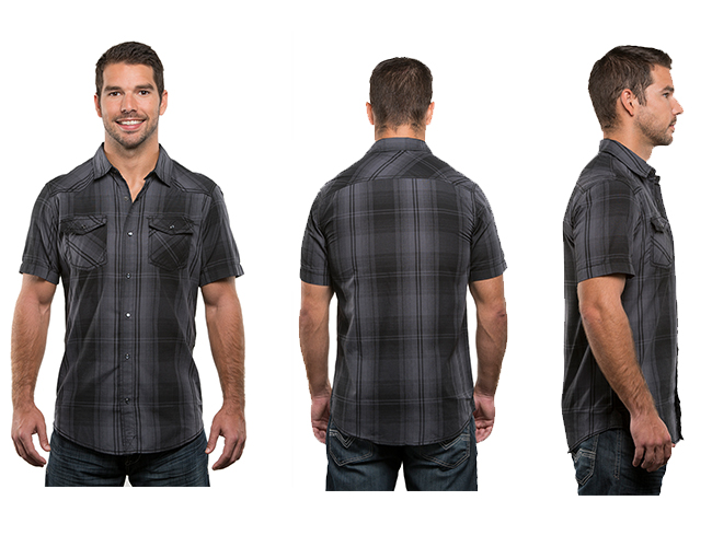 mens fashion hair style s sleeve western plaid shirt style 9206 8206 | 9206 black